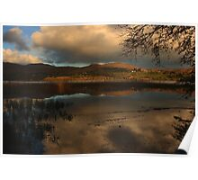 Lough Eske In Autumn Poster