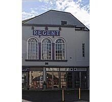 Regent Cinema, Lyme, Dorset.UK Photographic Print