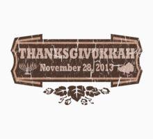 Vintage Thanksgivukkah November 28 2013 by xdurango
