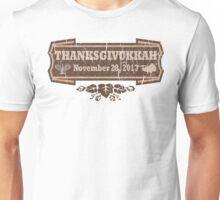 Vintage Thanksgivukkah November 28 2013 Unisex T-Shirt