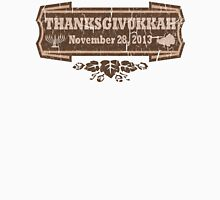 Vintage Thanksgivukkah November 28 2013 Unisex T-Shirt