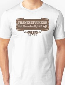 Thanksgivukkah November 28 2013 T-Shirt