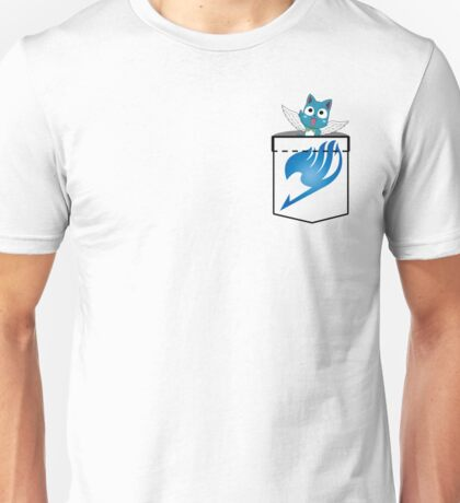 Pocket Happy! Unisex T-Shirt