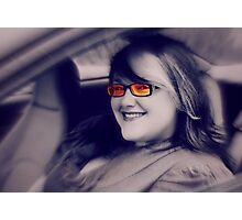 Her smile can light up the room Photographic Print