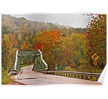 Bridge at Pruitt's Landing Poster