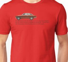 Alfa Romeo - 'Desire is...a new set of HT leads.'' Unisex T-Shirt