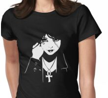 Comics Death Vertigo DC Sandman  Womens Fitted T-Shirt