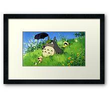 Tonari no Totoro Framed Print