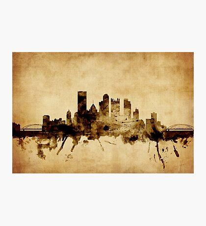 Pittsburgh Pennsylvania Skyline Photographic Print