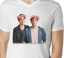 AmazingPhil&danisnotonfire Mens V-Neck T-Shirt
