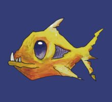 Yellow Zombie Fish by Cantus