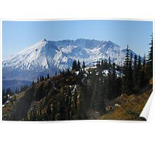 Mt St Helens 9455_101913 Poster