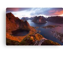 Beautiful Morning Canvas Print