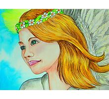 Angelic Photographic Print