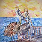 Pelicans by Marybeth Cunningham