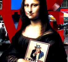Gioconda Travelling - USA by Gabriel T Toro