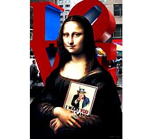 Gioconda Travelling - USA Photographic Print