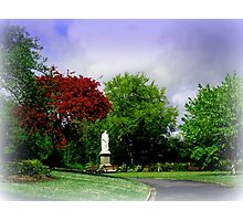 Statue in Rougemont Gardens Photographic Print