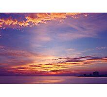 Gulf Sky Photographic Print