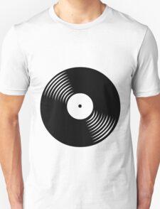 Black Vinyl T-Shirt