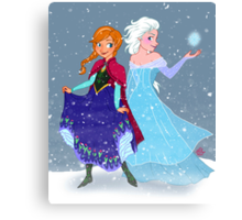 Frozen - Anna and Elsa Canvas Print