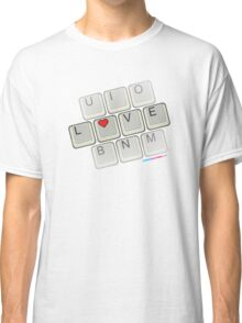 Love Keyboard Classic T-Shirt