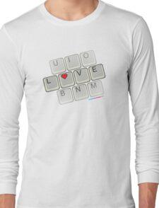 Love Keyboard Long Sleeve T-Shirt