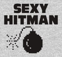 Sexy Hitman! General purpose self-promotion shirt by moonshine and lollipops