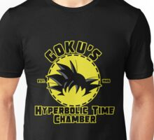 Goku's Hyperbolic Time Chamber - Yellow and Black Unisex T-Shirt