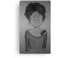 Tris Prior Canvas Print
