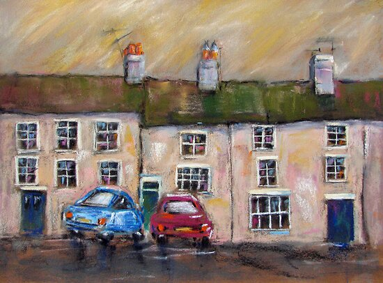Impressions of Masham, North Yorkshire by bevmorgan