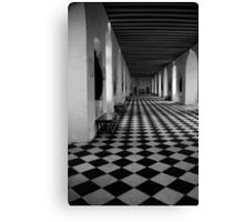 Hall Of Chateau de Chenoceau Canvas Print