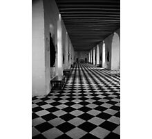 Hall Of Chateau de Chenoceau Photographic Print