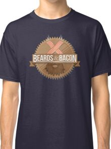 Beards and Bacon Classic T-Shirt
