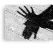 Shadow Bird Canvas Print