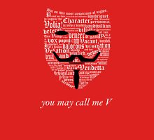 You may call me V (2) Unisex T-Shirt