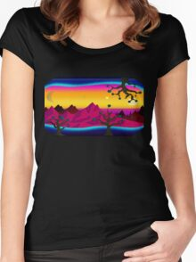 Another World Women's Fitted Scoop T-Shirt