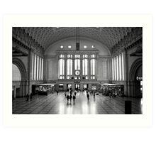 Osthalle, Leipzig Hauptbahnhof Art Print