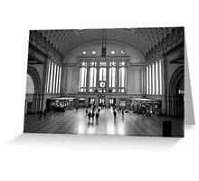 Osthalle, Leipzig Hauptbahnhof Greeting Card