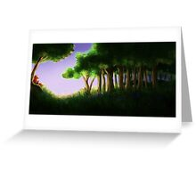 Tomte & Friends Midnight Sun Greeting Card