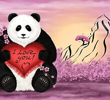 I love you by Nika Lerman