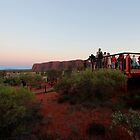 Uluru - viewing platform by gaylene