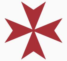 Maltese cross - Knights Templar - Holy Grail -  The Crusades by James Ferguson - Darkinc1
