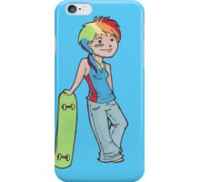 Rainbow Dash is awesome iPhone Case/Skin
