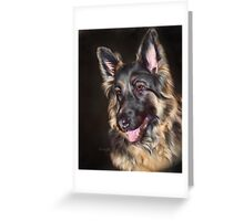 German Shepherd Dog  Greeting Card