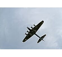 Bomber Plane Photographic Print