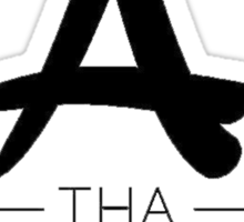 Tha Alumni Music Group Logo (FIXED) Sticker