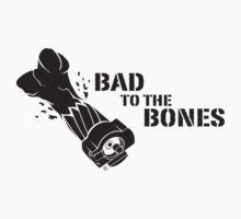 Bad To The Bones - Black Kids Clothes