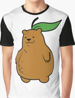 Pear Bear Graphic T-Shirt