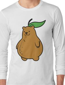 Pear Bear Long Sleeve T-Shirt